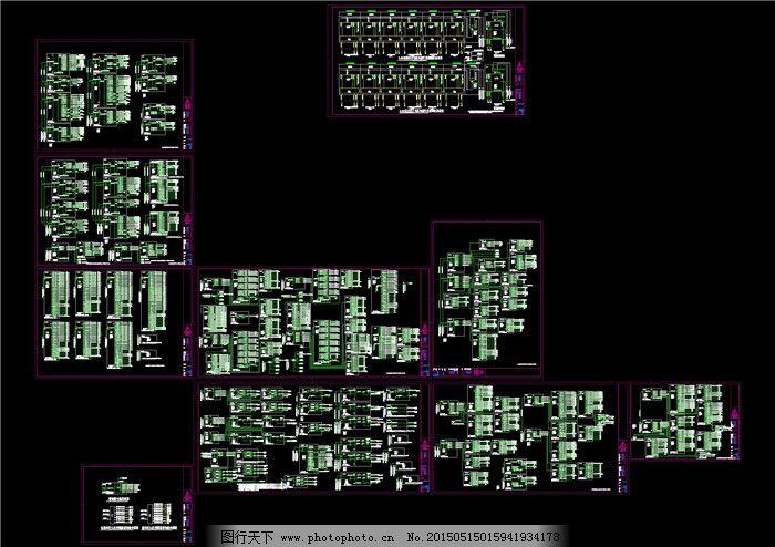 配电箱系统图cad图纸免费下载