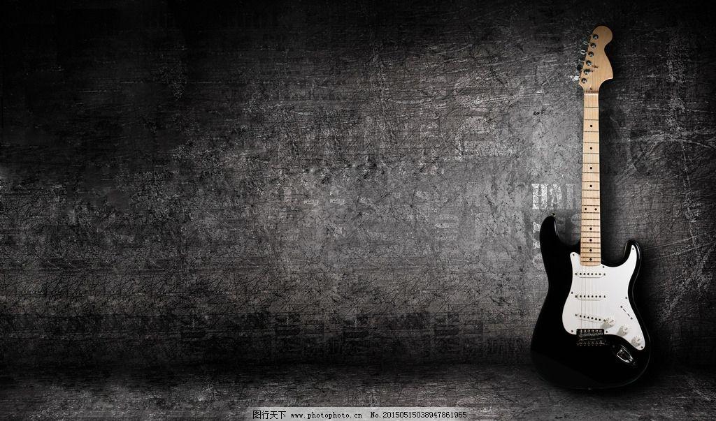 qq头像吉他黑白