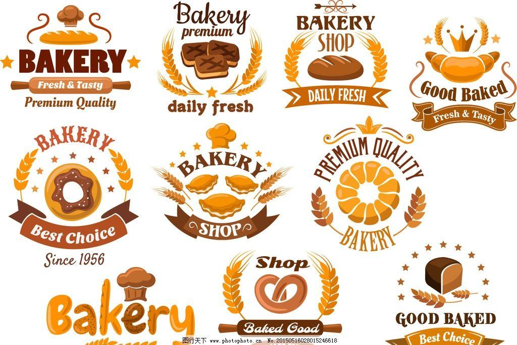 面包 麦穗 小麦 面包店