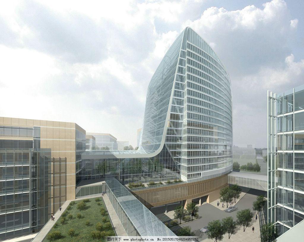 商业大楼建筑景观图片