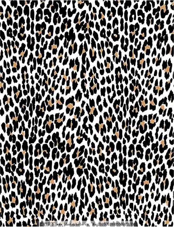 豹纹素材免费下载 豹纹 素材 动物纹路 豹纹 素材 矢量图 其他矢量图