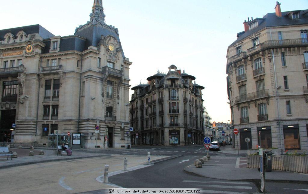 欧美建筑 欧美经典建筑 楼房建筑 蓝天 欧式风情 摄影 建筑摄影 旅游
