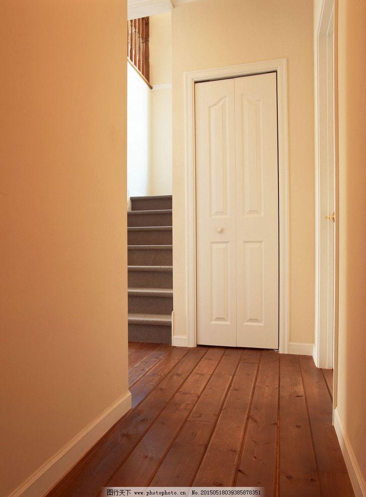 木地板走廊实景