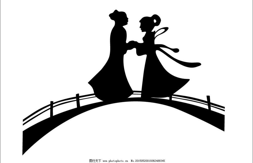 七夕鹊桥相会-影视文化素材图片