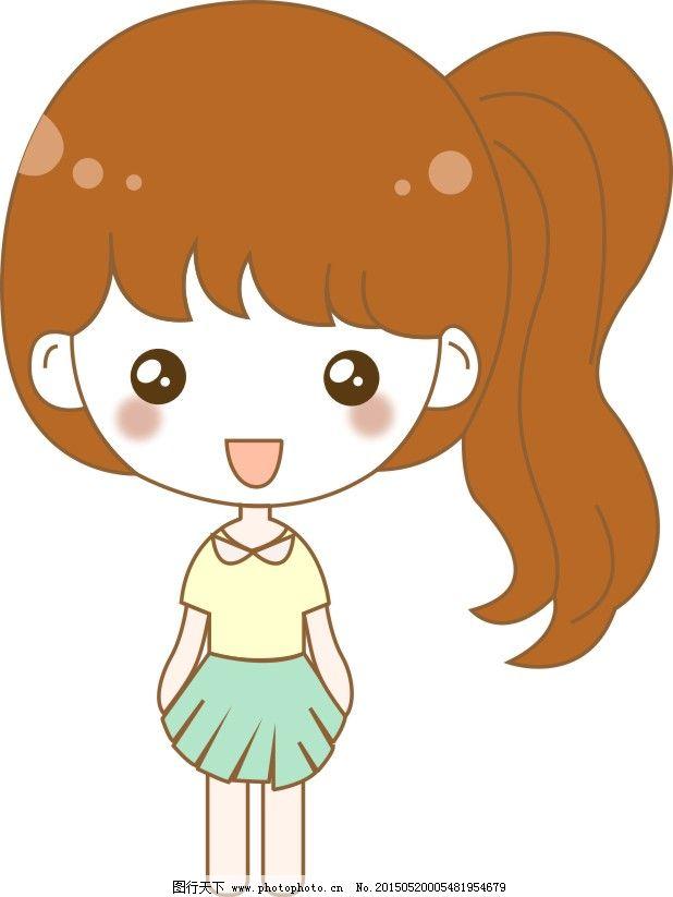 动画 卡通 卡通小女孩 漫画 小女孩 卡通小女孩 小女孩 卡通 长发