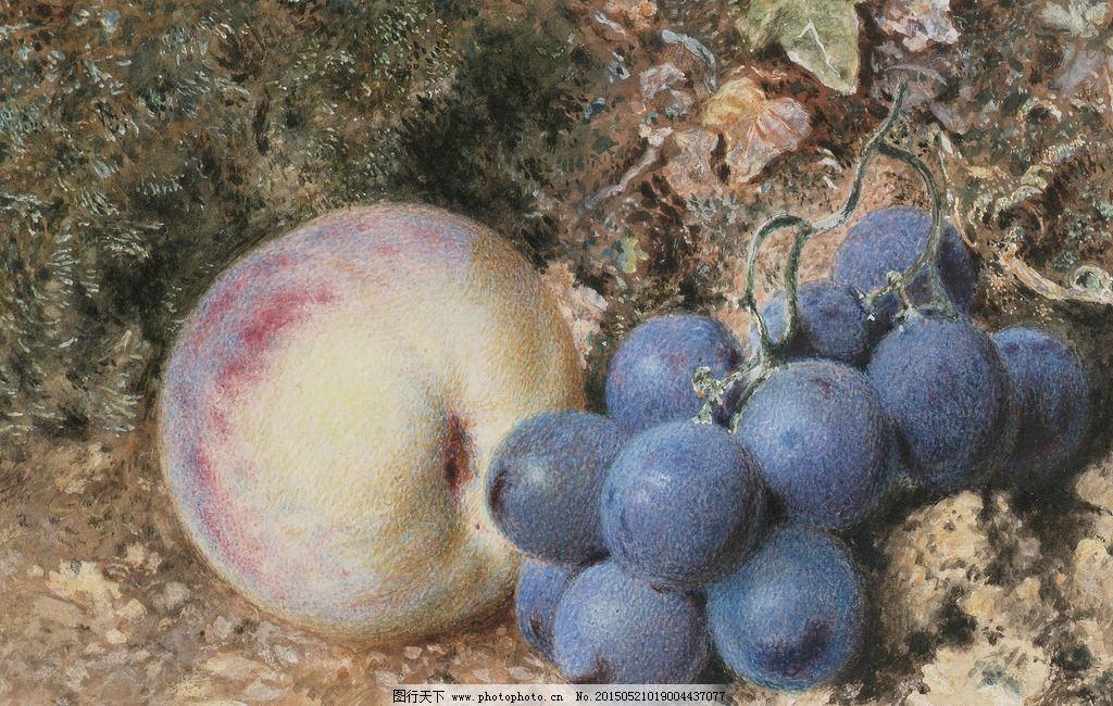 一组优秀的罐子水果破罐子素描静物作品