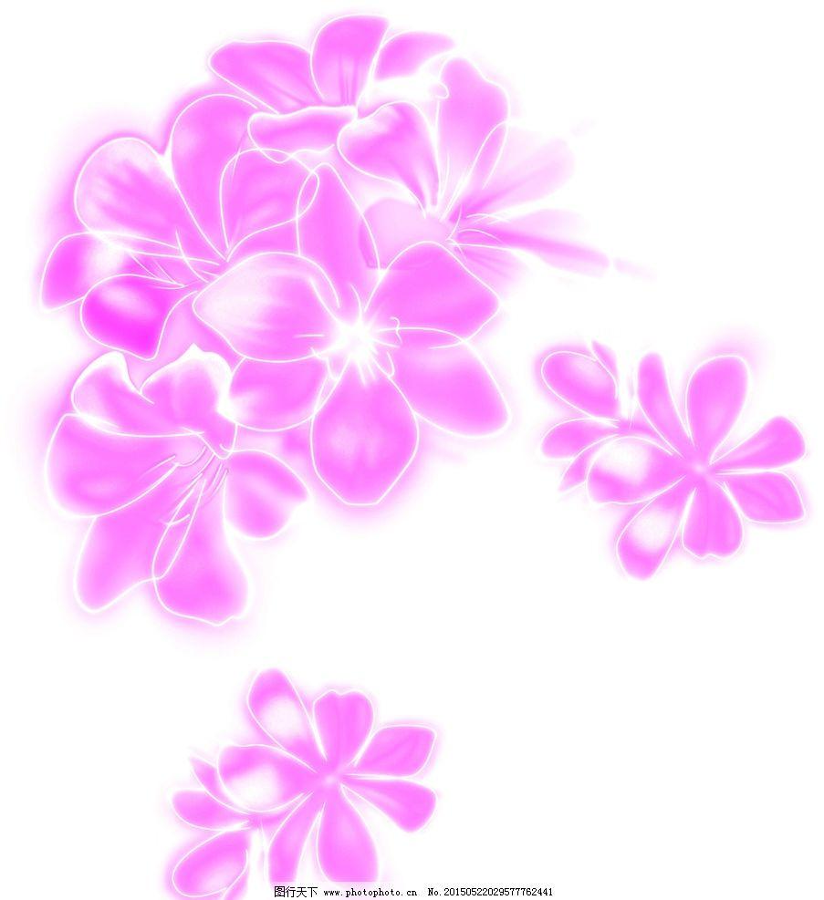 矢量桃花 粉色桃花 桃花图案图片