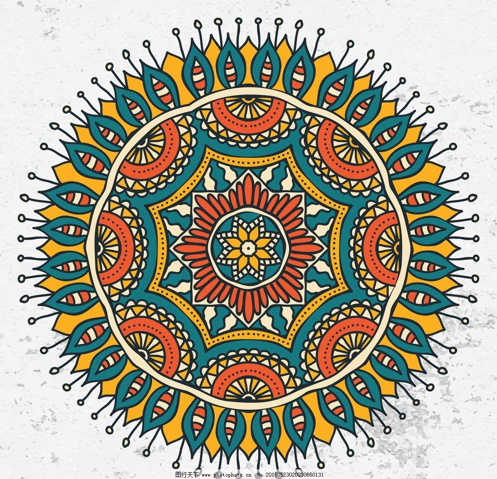 欧式花纹 花边 边框 花纹分割线 对称花纹 圆形花纹 装饰花纹图片