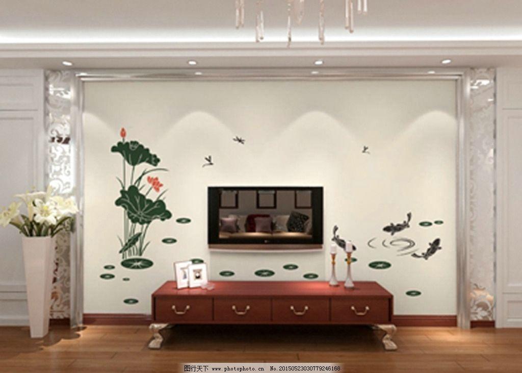 硅藻泥 印花 硅藻泥图 矢量 电视墙 背景墙 花型        设计 广告图片