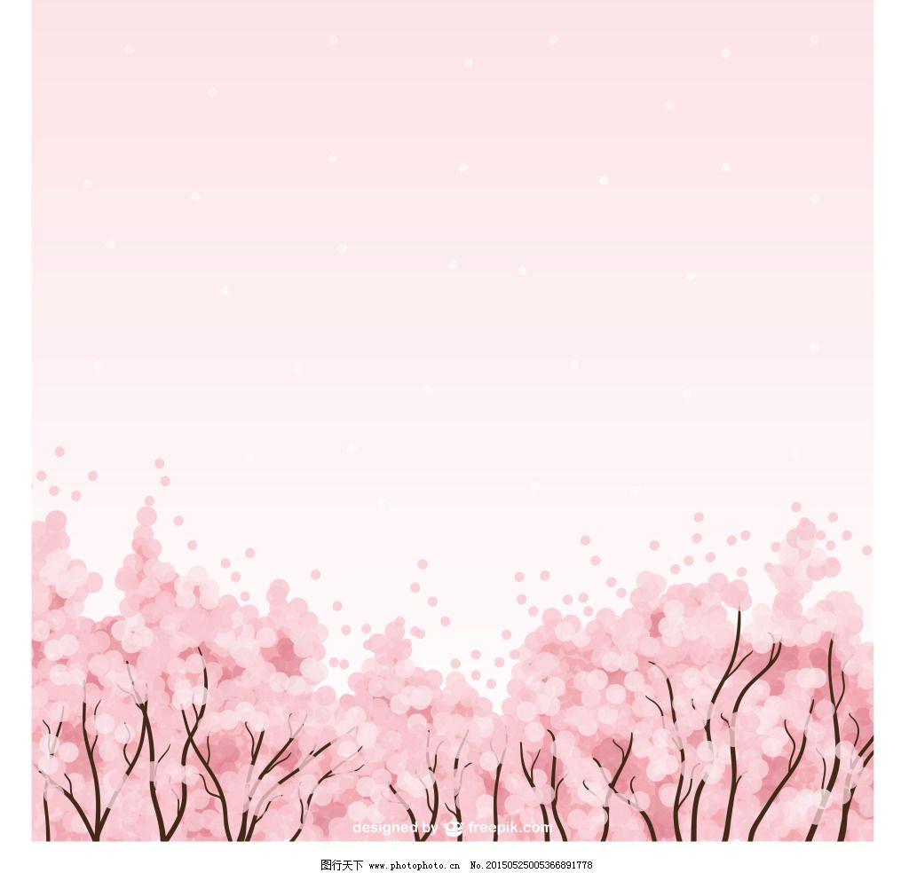 唯美桃花林