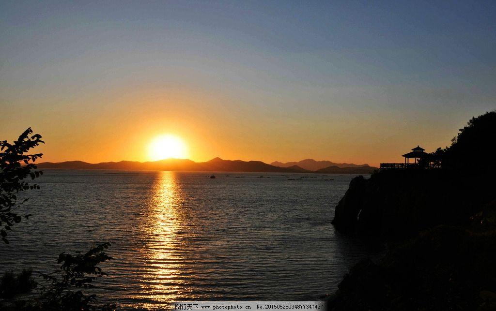 日出 海上日出 旭日东升 大海 海洋 黎明 早晨 清晨 海上清晨  摄影