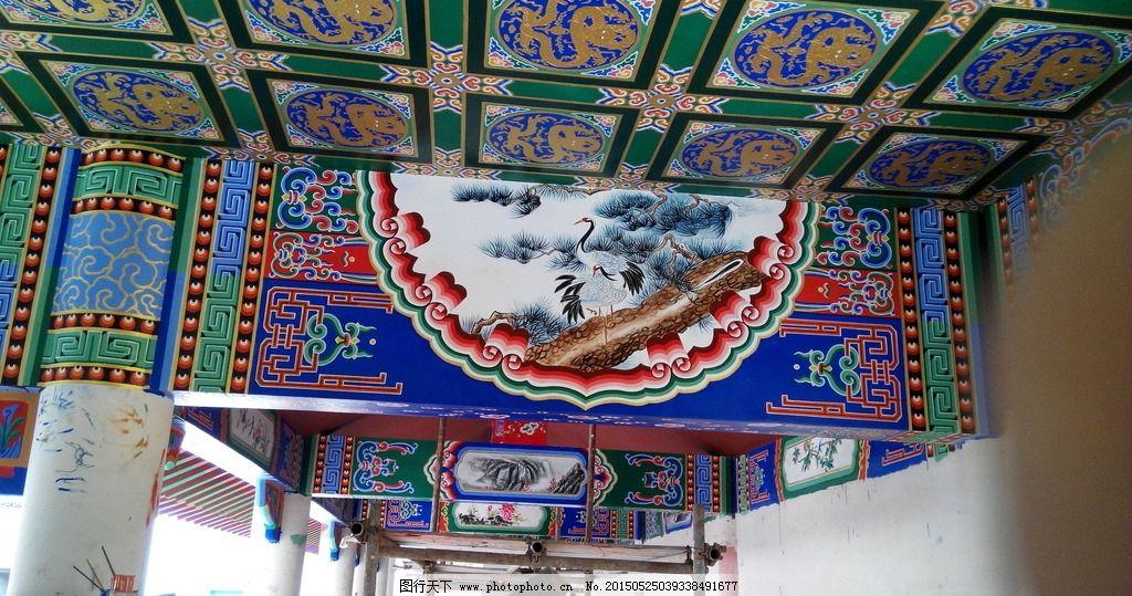 中国古建苏式风格彩绘图片