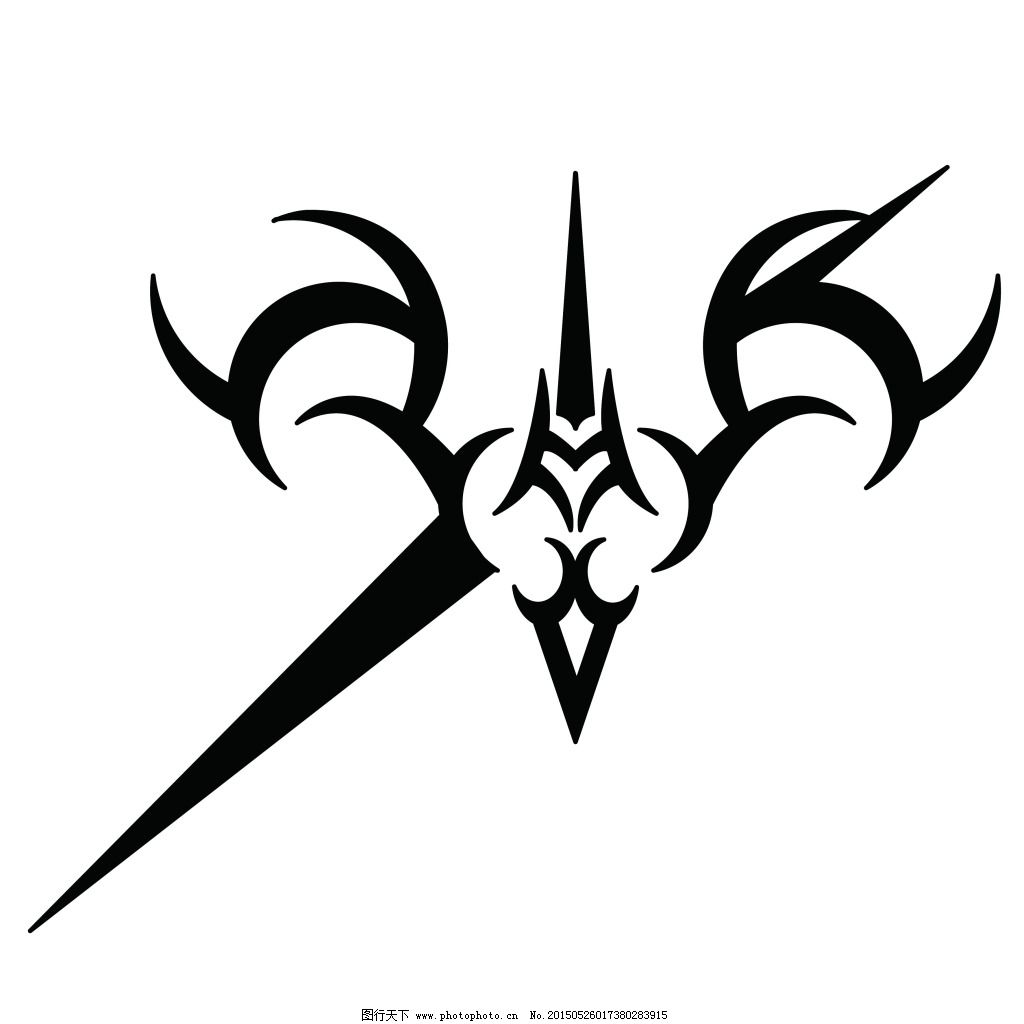 fate免费下载 动画logo 矢量logo 纹身图案 矢量logo 纹身图案 动画