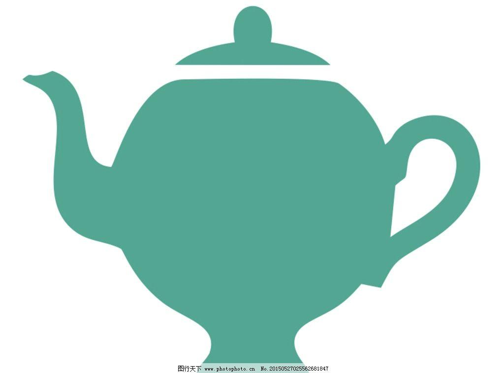 茶具手绘制作图