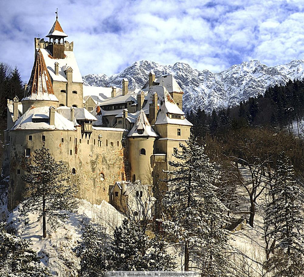 欧洲城堡风景 欧洲城堡风景图片素材下载 古堡 城堡建筑 古典建筑图片