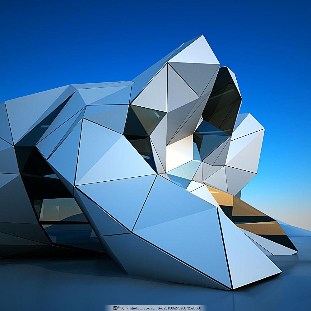 三角形建筑规划设计