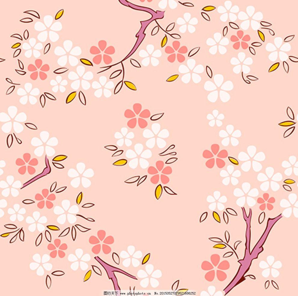 手绘 彩色 线条 花朵