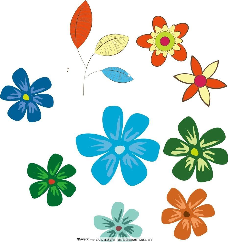 手绘花朵素材图片