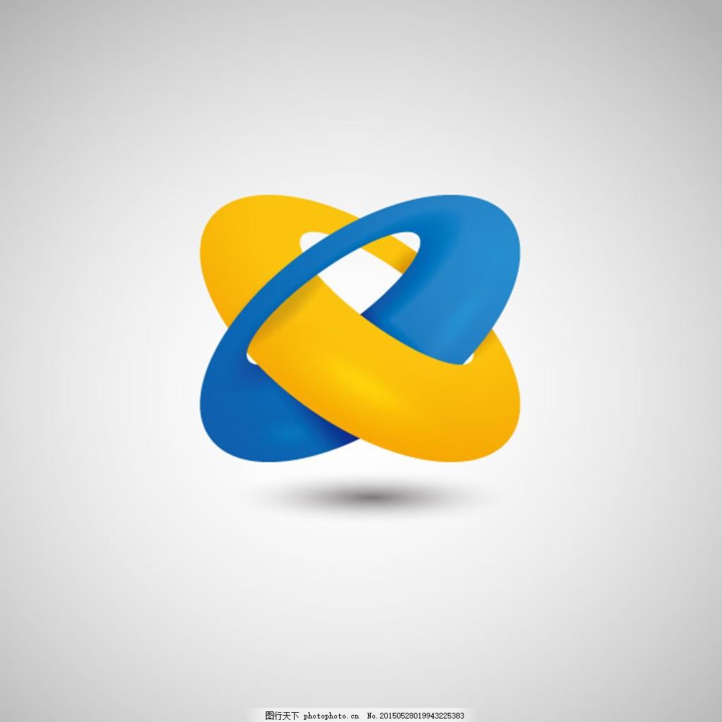 个性立体logo矢量设计图片