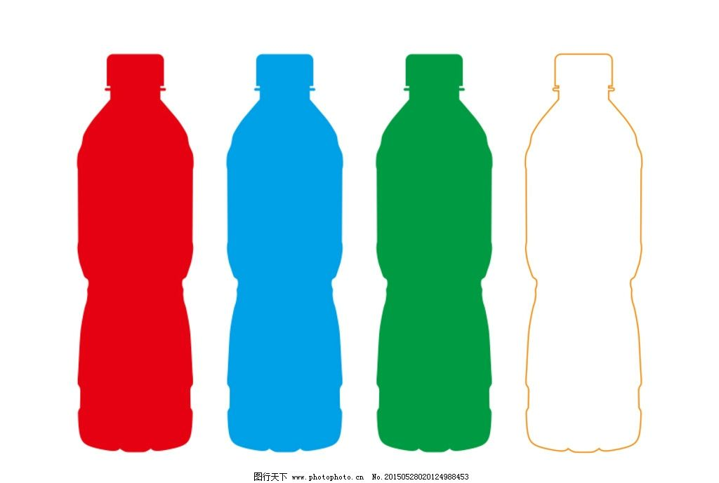 矿泉水瓶 矿泉水 水瓶