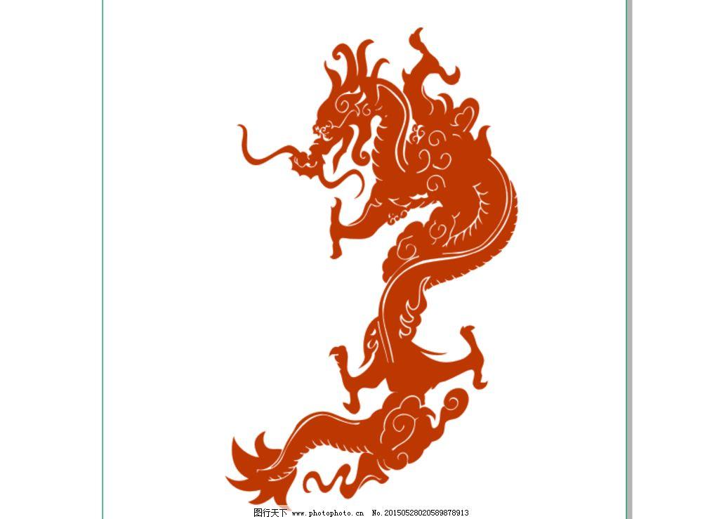 龙雕刻图片