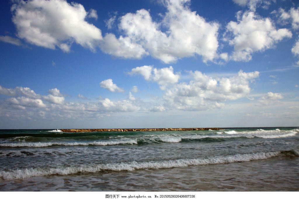 白云 风景 海水 蓝天 风景 蓝天 白云 海水 图片素材 风景|生活|旅游