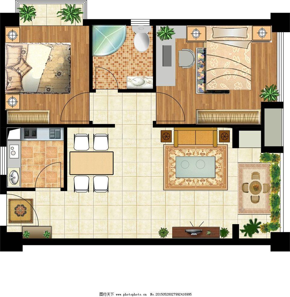 别墅屋顶平面图图片