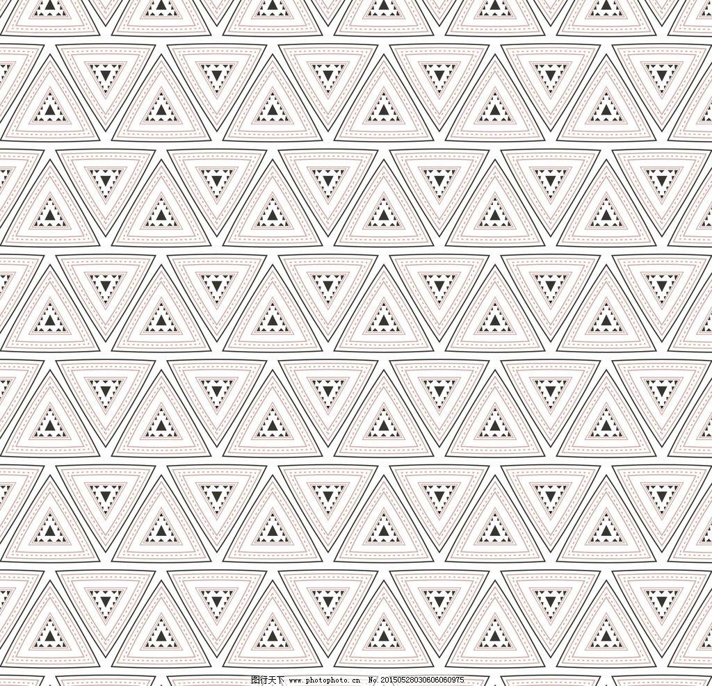 三角形循环图案图片图片