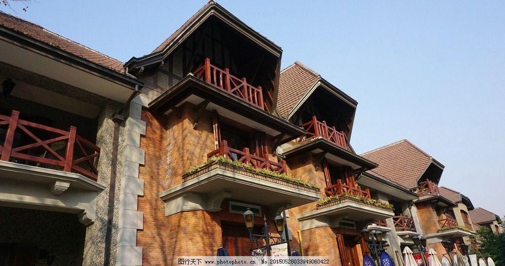 欧式建筑 上海 冬季建筑