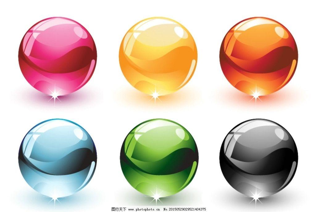 色彩 水晶球 水晶 阴影 彩色 新悦魅影 设计 广告设计 广告设计 ai