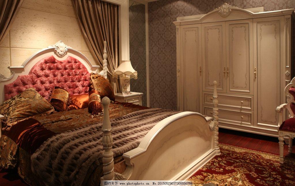 欧式家具衣柜 白色衣柜