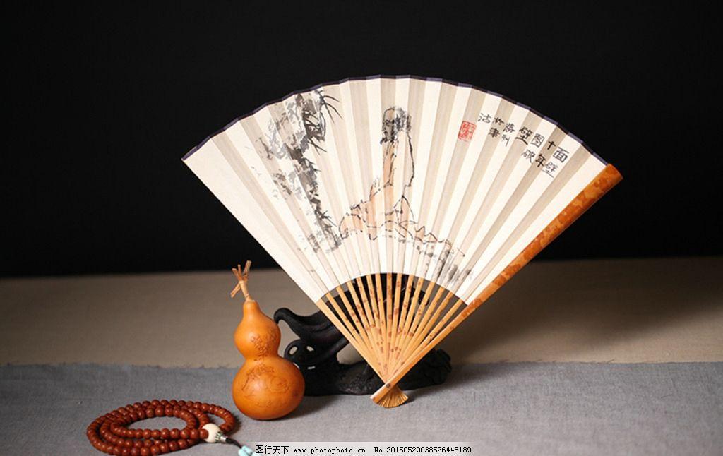 古代折扇画框简笔画