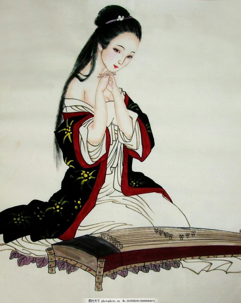 中国古典人物肖像画