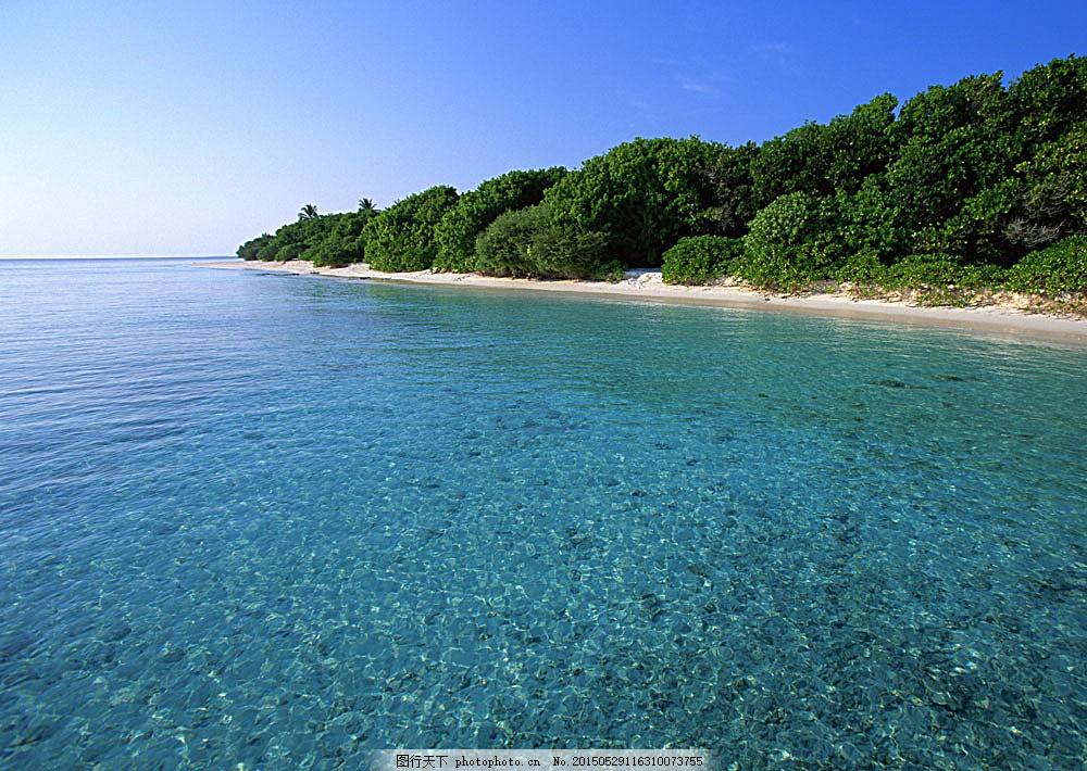 自然风景 自然景观 风景摄影 高清图片 图片素材 海洋海边 jpg 青色