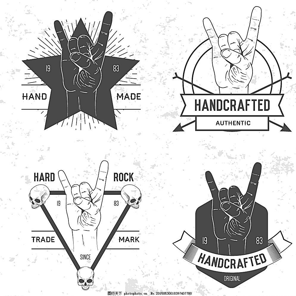 手势 手指 手绘 逼真手 矢量 人物图库 其他 白色