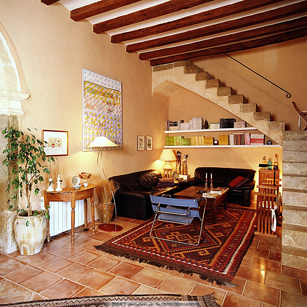 高档复式楼装潢 室内设计 室内装饰效果图 室内装潢 时尚家居 装潢