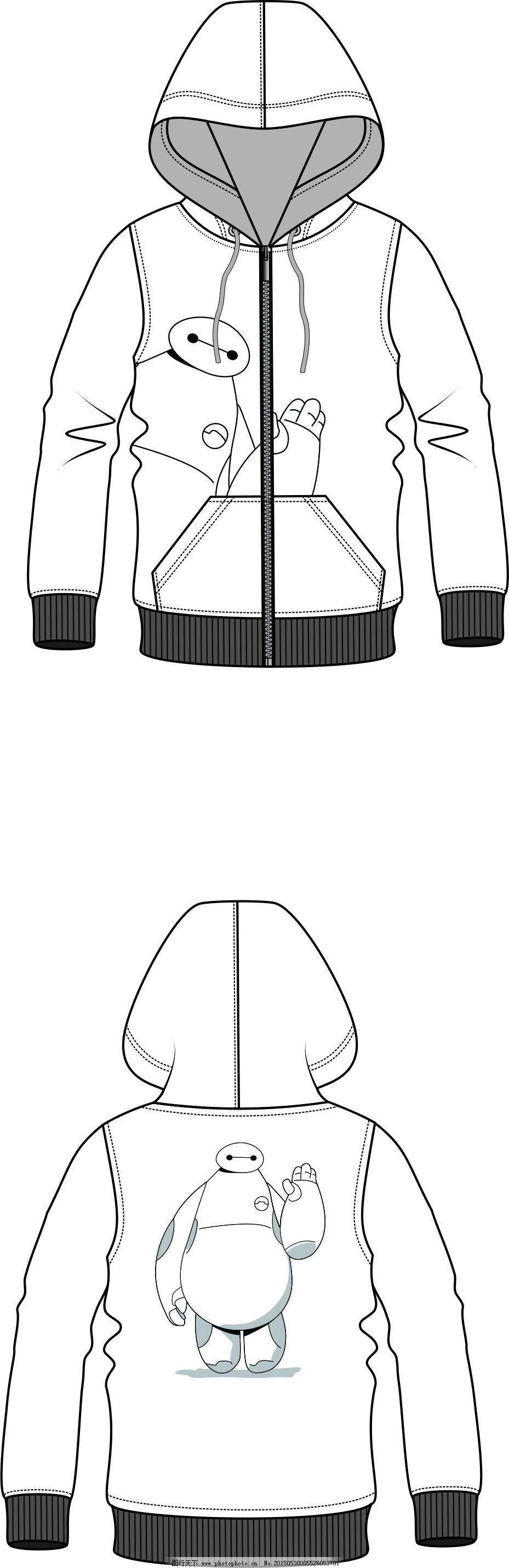 卫衣模板免费下载 cdr格式 服装设计 卫衣模板 服装设计 卫衣模板 cdr