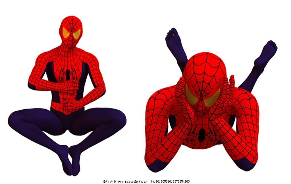 蜘蛛侠 3d 超级英雄 动漫人物 动态 动作 动漫角色 设计 动漫动画