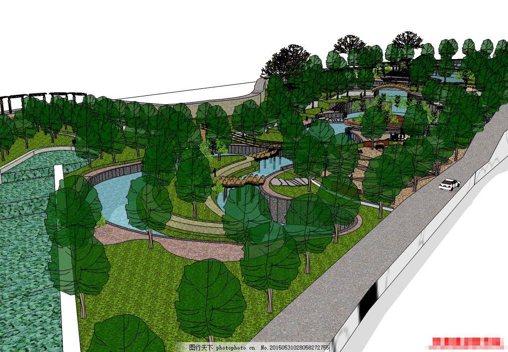 公园 广场 园林 景观设计 中心广场 树木 园林设计 室外 花坛图片