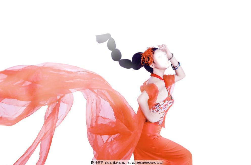 飞天 古典美女 飘扬丝带 红色丝带 房地产 美人 敦煌飞天 敦煌