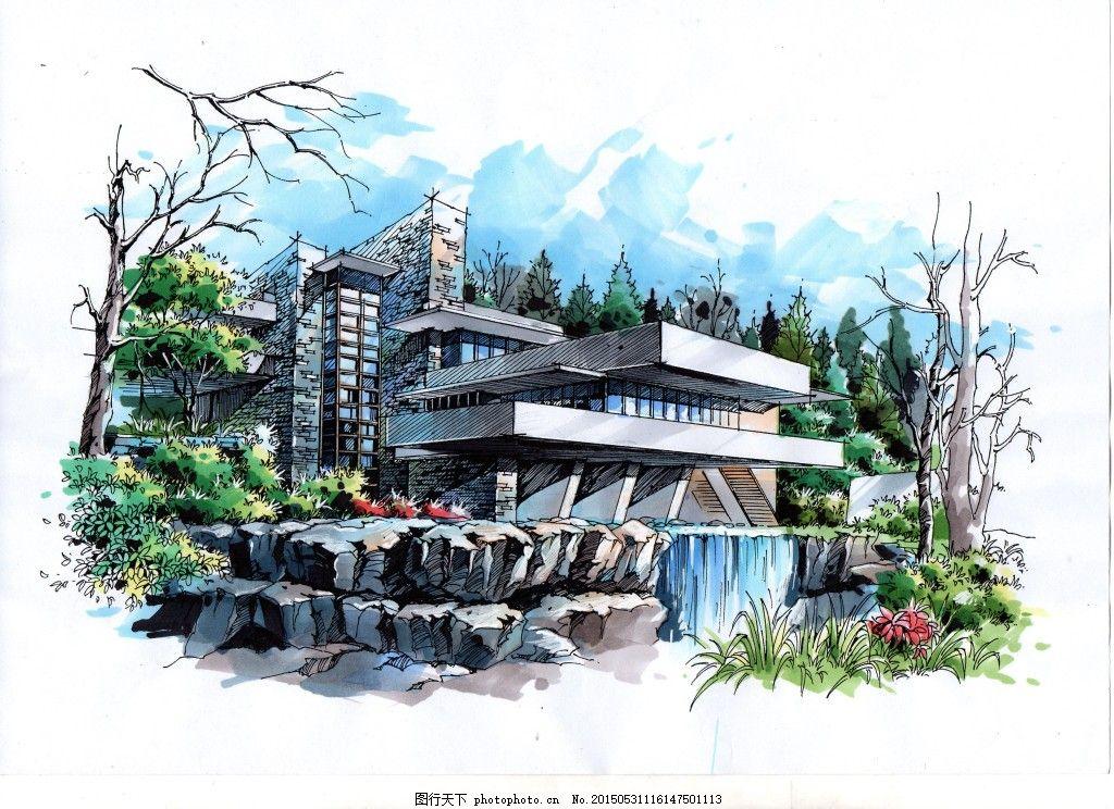 建筑设计 建筑考研 快题设计 大禹手绘