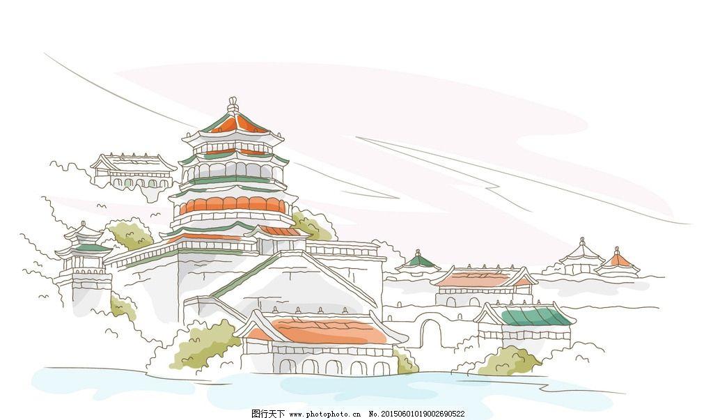 手绘城市 都市 城市 国外建筑师