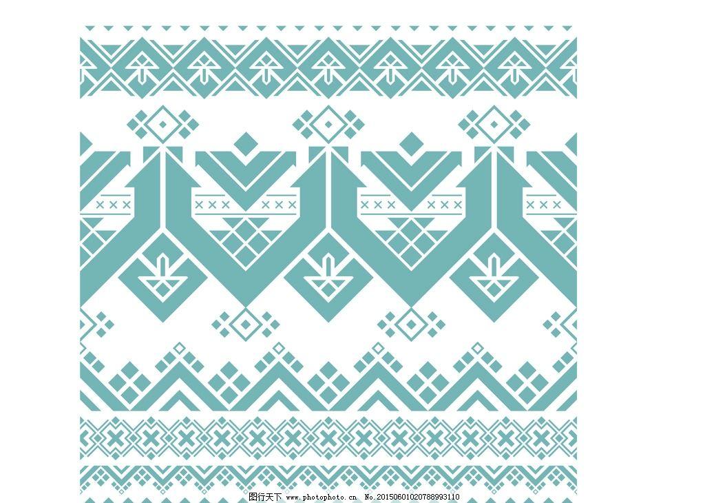 时尚无框画 酒店装饰画 花卉花纹 设计 几何 格纹图案 设计 底纹边框
