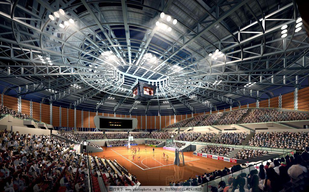 篮球场 钢结构