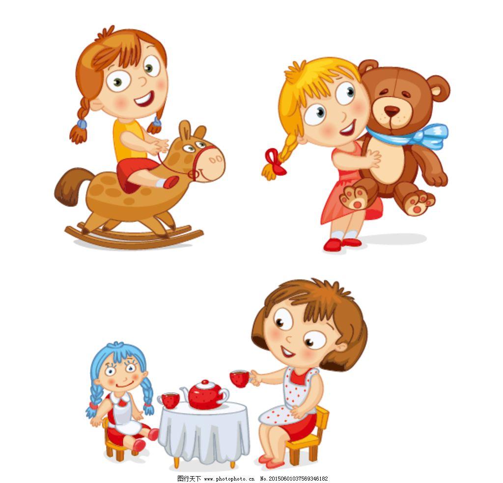 儿童玩具手绘图片