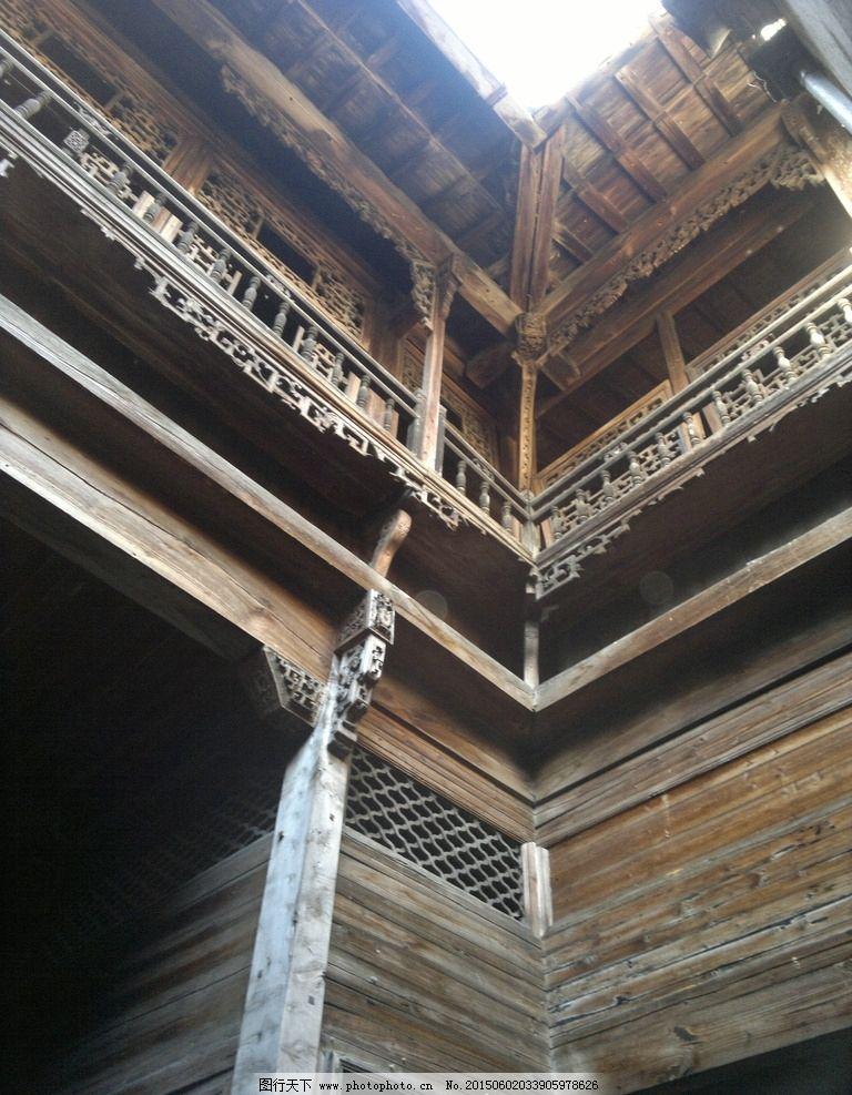 古建 建筑 木质 安徽 晴天 摄影 旅游摄影 国内旅游 300dpi jpg