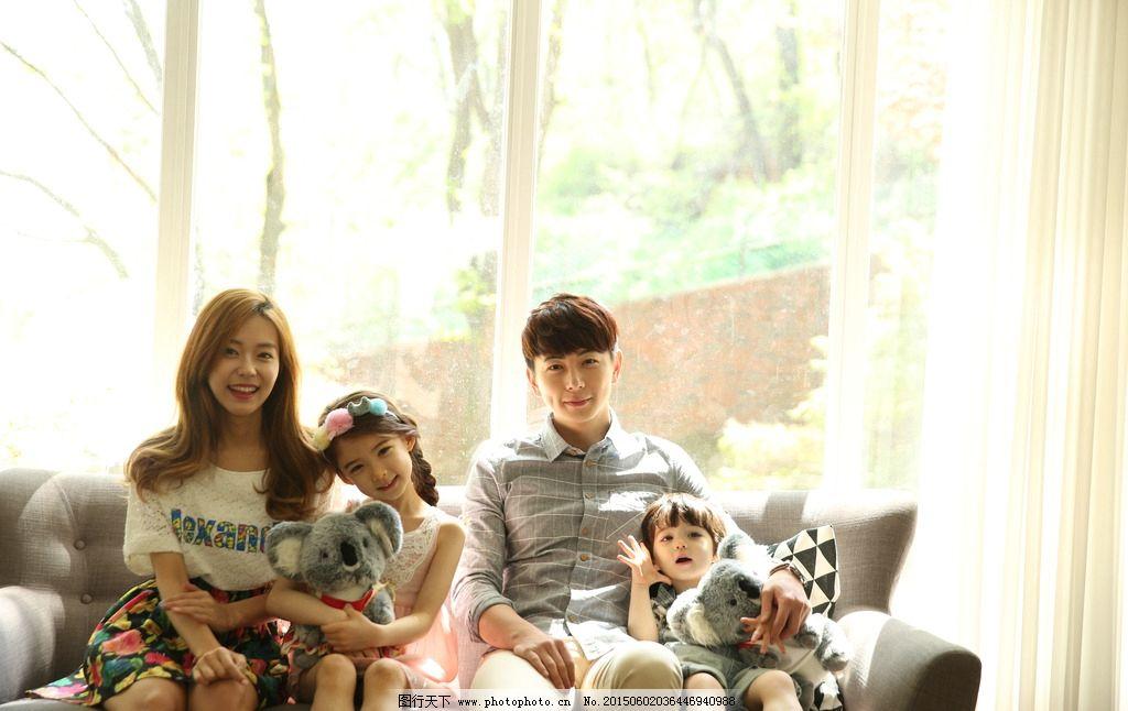 亲子摄影 一家人 全家福 摄影 写真 人物摄影 人物图库 jpg 韩国家庭