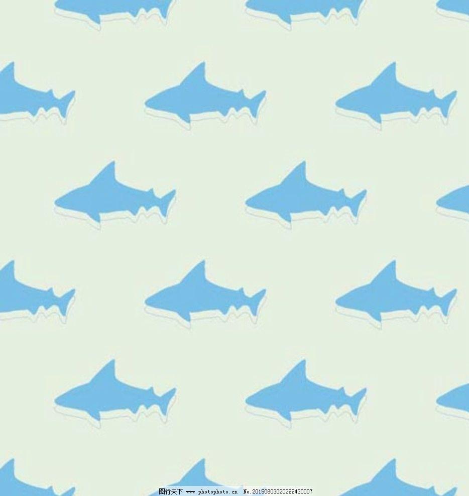 海洋可爱小动物矢量图设计图