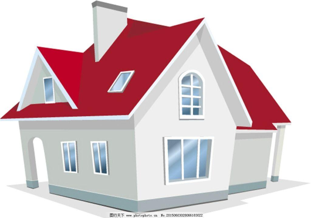 矢量房子图片_建筑设计_环境设计_图行天下图库