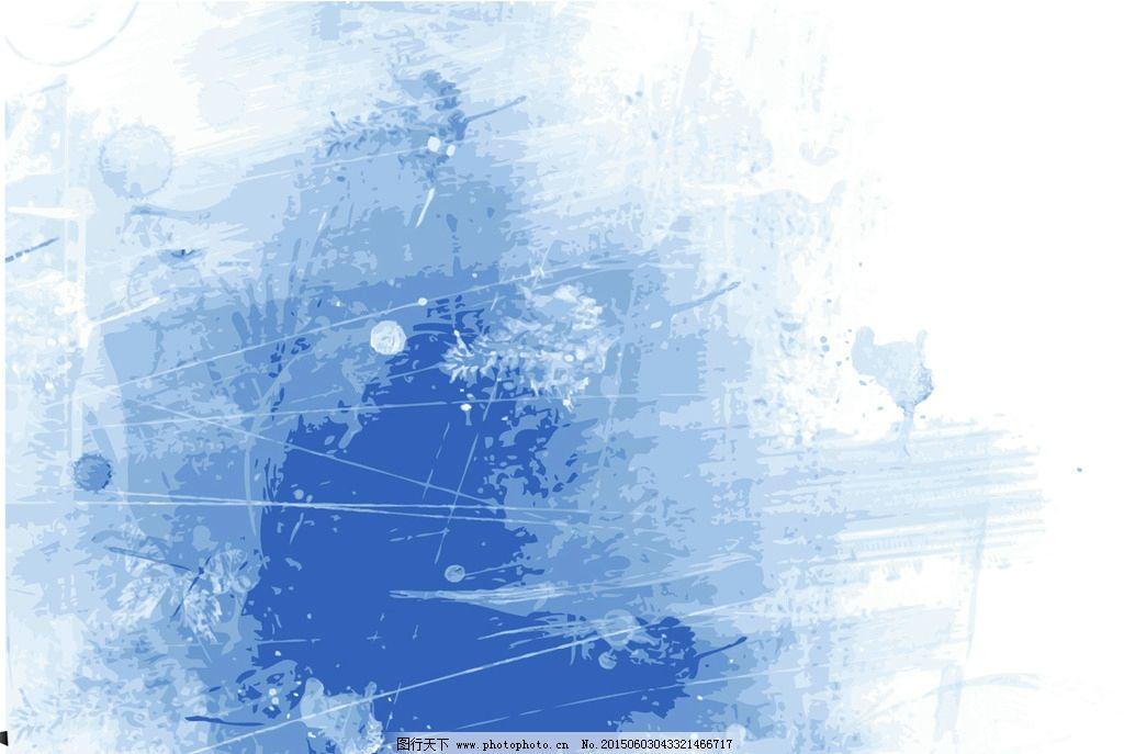 水彩纹理-ppt背景图
